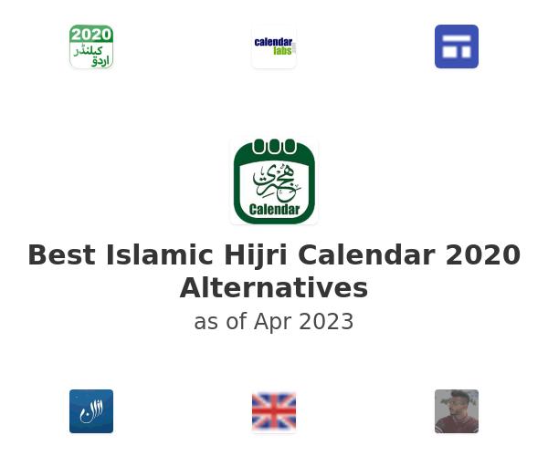 Best Islamic Hijri Calendar 2020 Alternatives