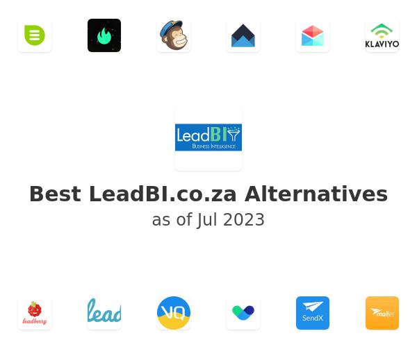 Best LeadBI.co.za Alternatives