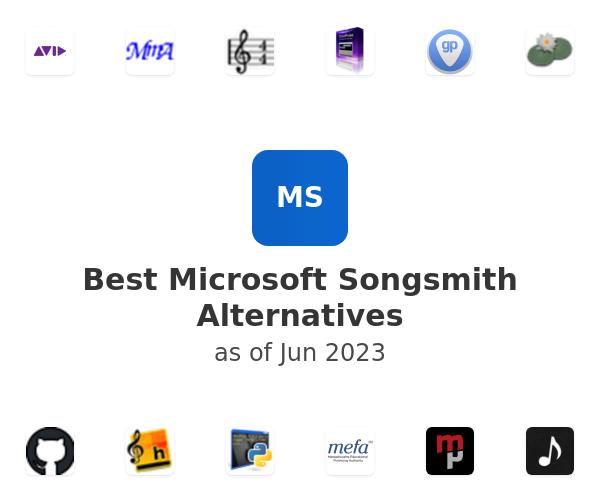 Best Microsoft Songsmith Alternatives