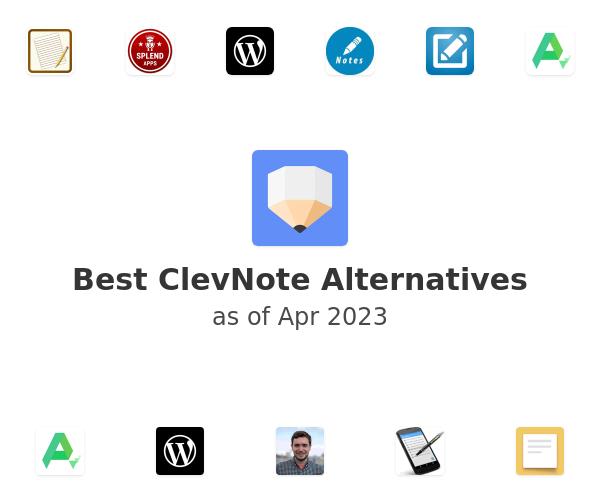 Best ClevNote Alternatives