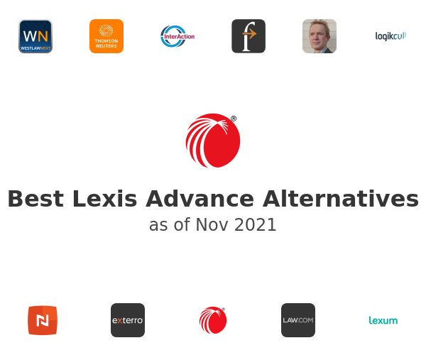 Best Lexis Advance Alternatives