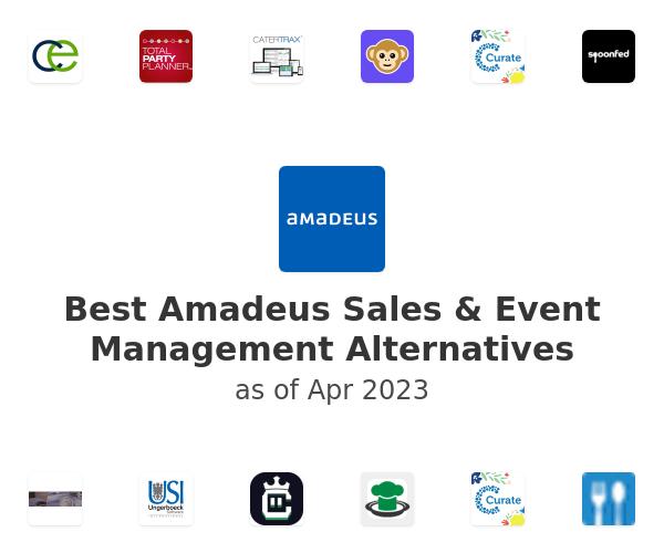 Best Amadeus Sales & Event Management Alternatives
