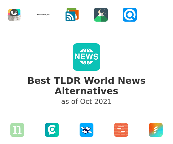 Best TLDR World News Alternatives