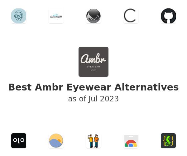 Best Ambr Eyewear Alternatives
