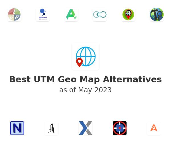 Best UTM Geo Map Alternatives