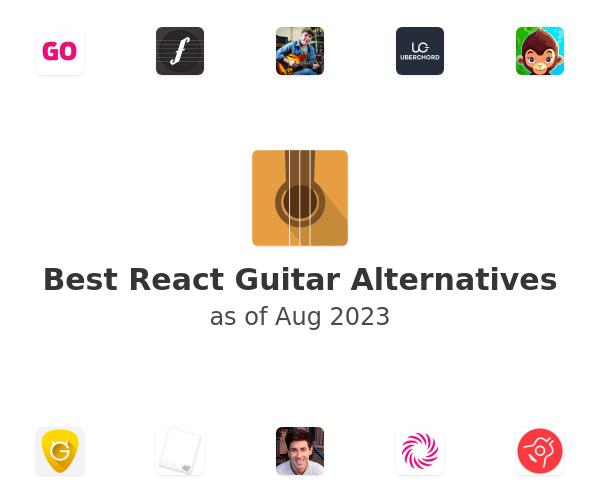 Best React Guitar Alternatives