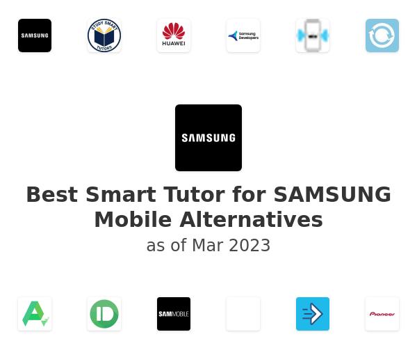 Best Smart Tutor for SAMSUNG Mobile Alternatives