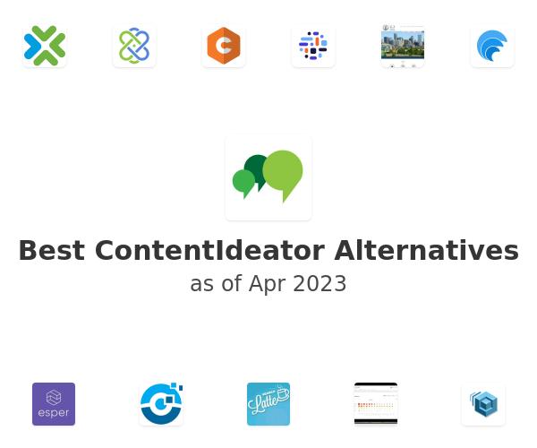 Best ContentIdeator Alternatives