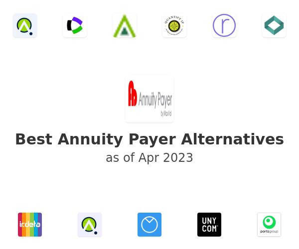 Best Annuity Payer Alternatives
