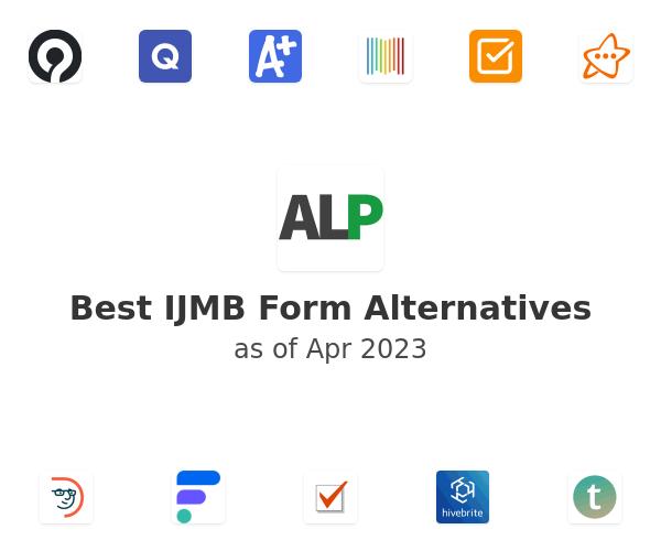 Best IJMB Form Alternatives