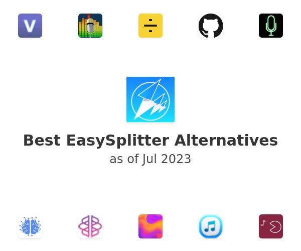 Best EasySplitter Alternatives