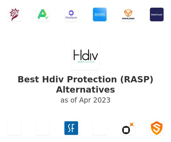 Best Hdiv Protection (RASP) Alternatives