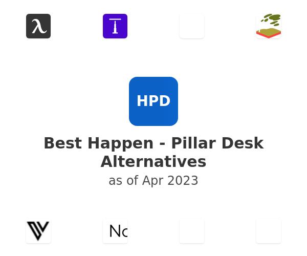 Best Happen - Pillar Desk Alternatives