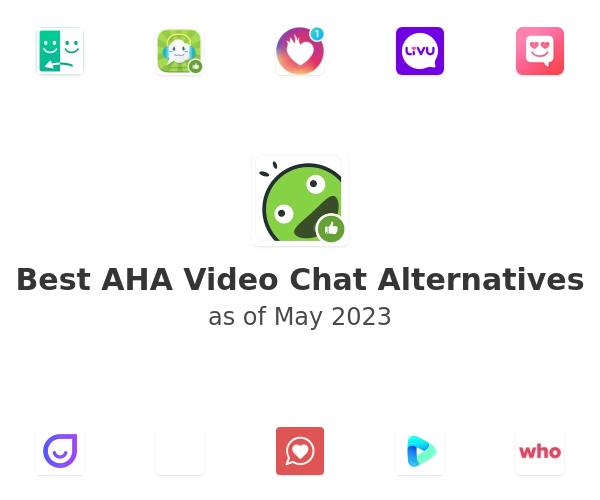 Best AHA Video Chat Alternatives