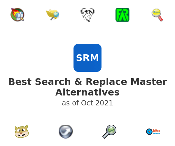 Best Search & Replace Master Alternatives