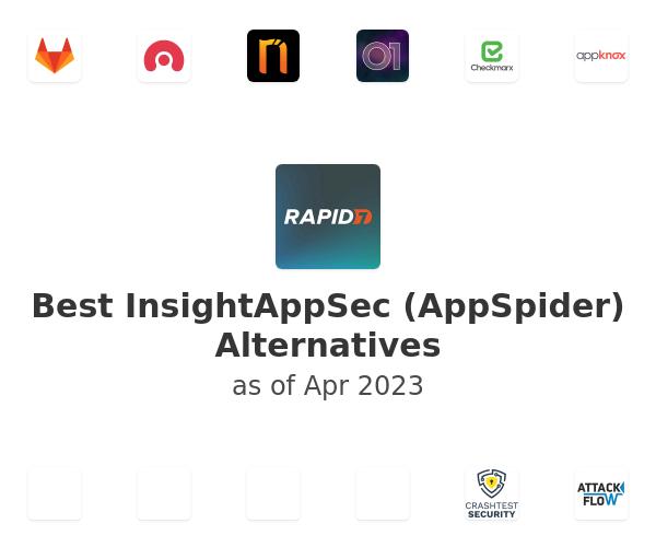 Best InsightAppSec (AppSpider) Alternatives