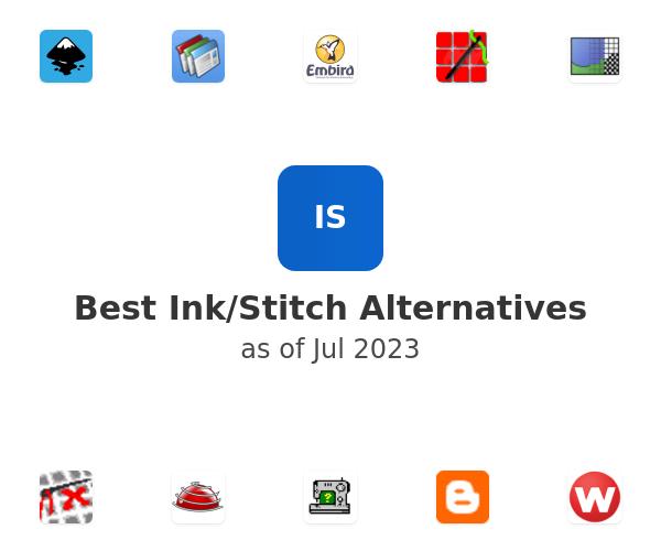 Best Ink/Stitch Alternatives