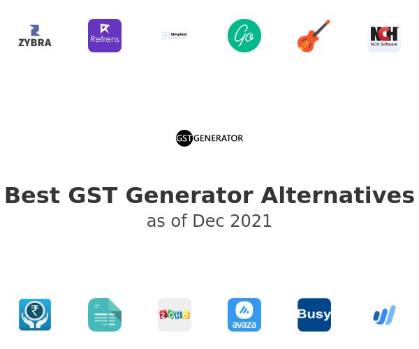 Best GST Generator Alternatives
