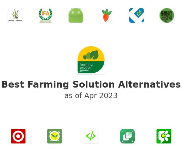 Best Farming Solution Alternatives