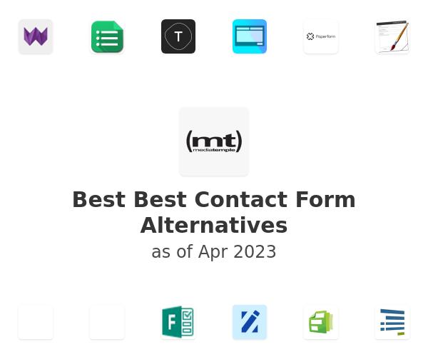 Best Best Contact Form Alternatives