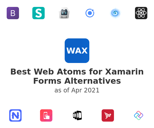 Best Web Atoms for Xamarin Forms Alternatives