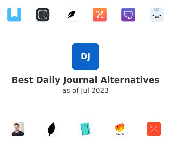 Best Daily Journal Alternatives