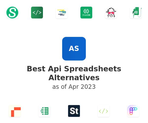 Best Api Spreadsheets Alternatives