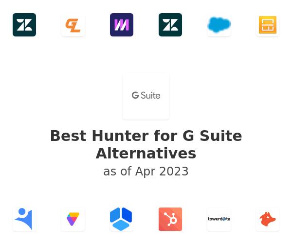Best Hunter for G Suite Alternatives