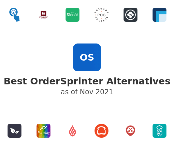 Best OrderSprinter Alternatives