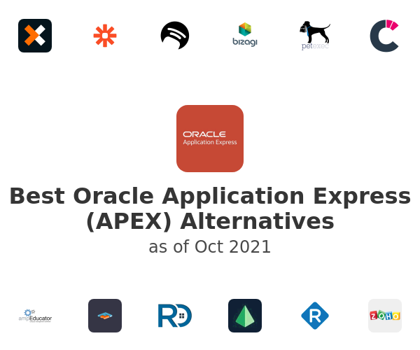 Best Oracle Application Express (APEX) Alternatives