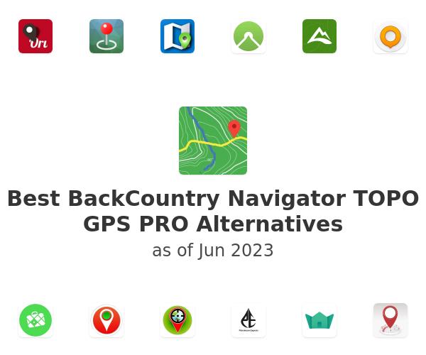 Best BackCountry Navigator TOPO GPS PRO Alternatives