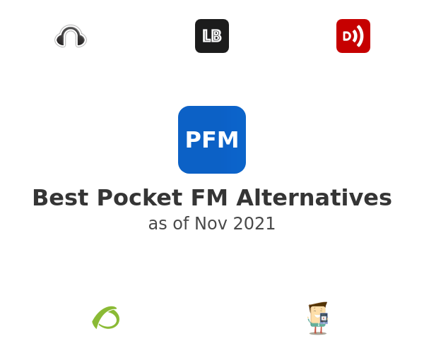 Best Pocket FM Alternatives
