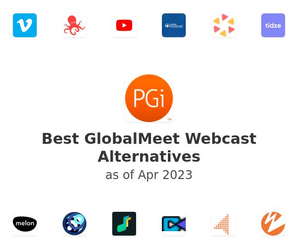 Best GlobalMeet Webcast Alternatives