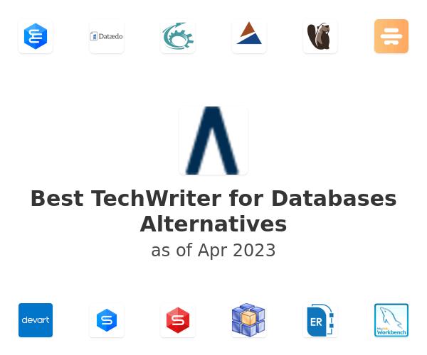 Best TechWriter for Databases Alternatives