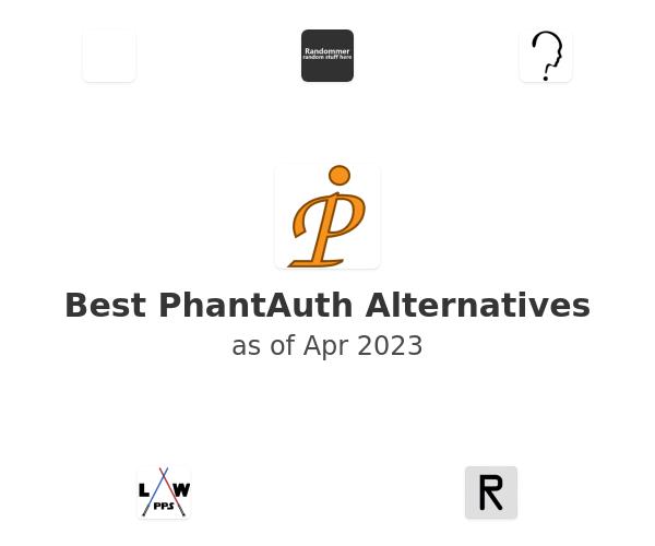 Best PhantAuth Alternatives