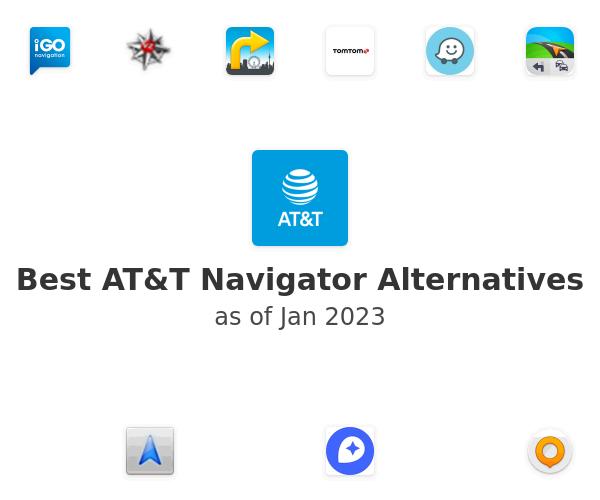 Best AT&T Navigator Alternatives
