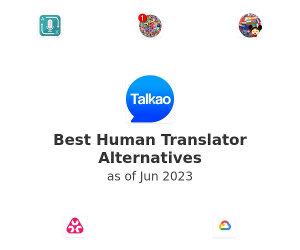 Best Human Translator Alternatives