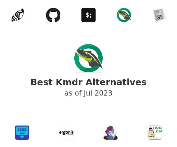 Best Kmdr Alternatives
