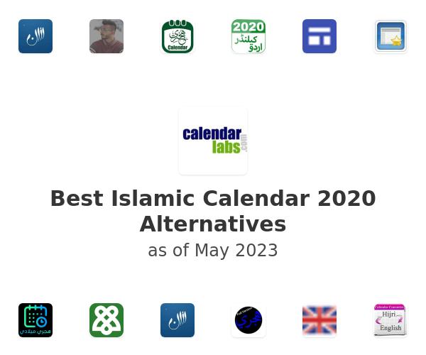 Best Islamic Calendar 2020 Alternatives