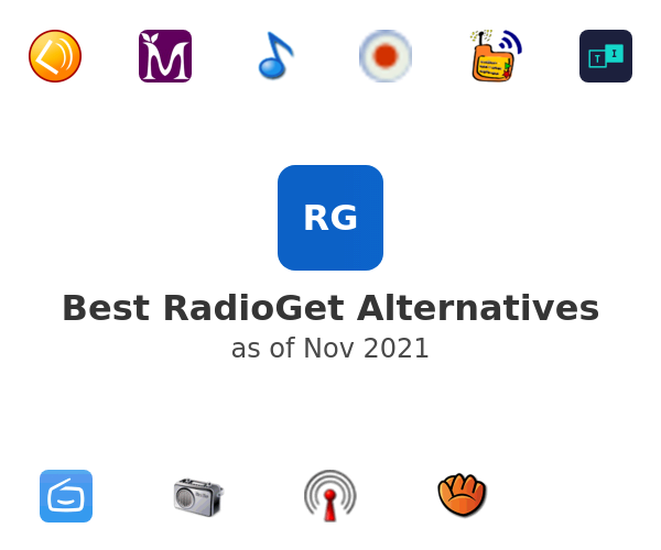 Best RadioGet Alternatives