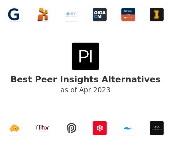 Best Peer Insights Alternatives