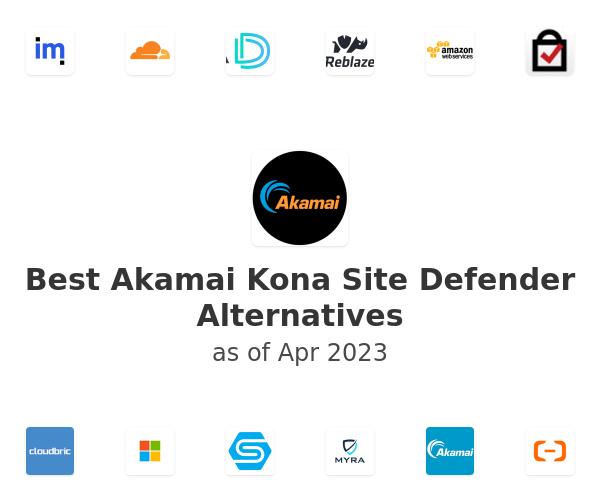 Best Akamai Kona Site Defender Alternatives