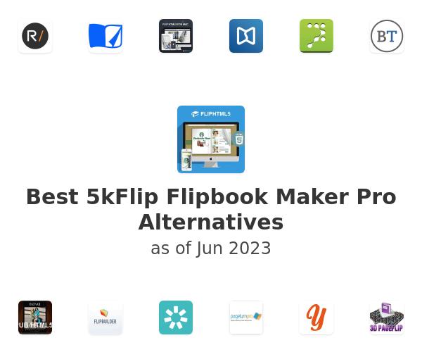 Best 5kFlip Flipbook Maker Pro Alternatives