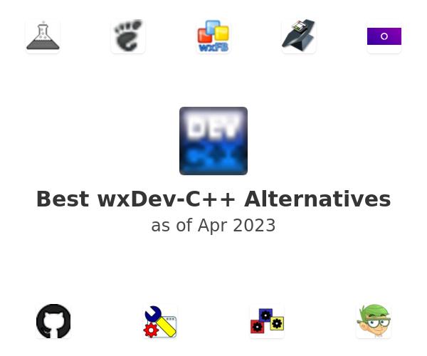 Best wxDev-C++ Alternatives