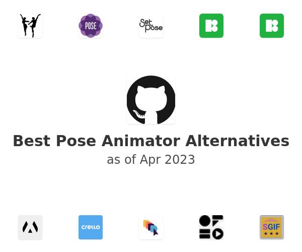 Best Pose Animator Alternatives