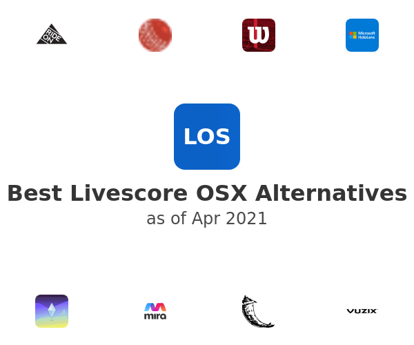 Best Livescore OSX Alternatives