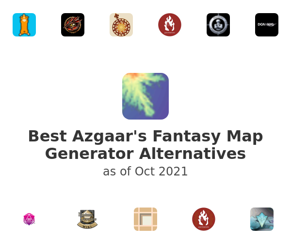 Best Azgaar's Fantasy Map Generator Alternatives