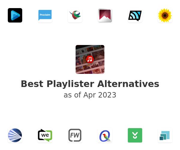 Best Playlister Alternatives
