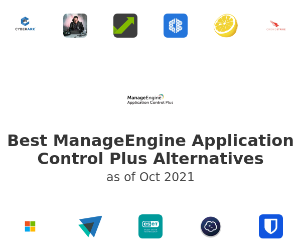 Best ManageEngine Application Control Plus Alternatives