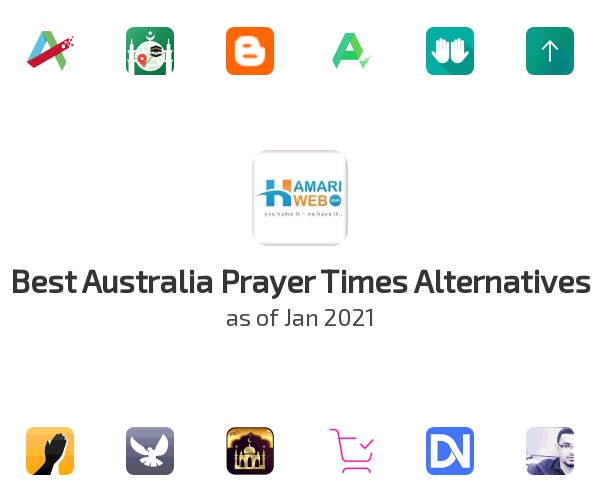 Best Australia Prayer Times Alternatives